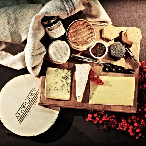 A cheese hamper from Androuet