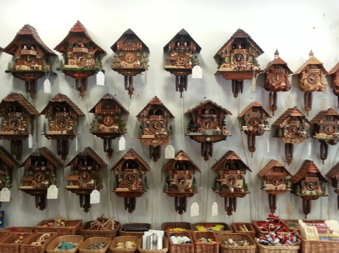 Selection of cuckoo clocks