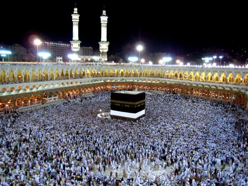 Mecca - the holiest city for Muslims