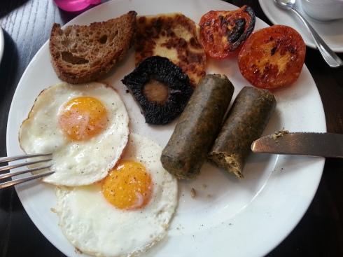 Roast's veggie breakfast