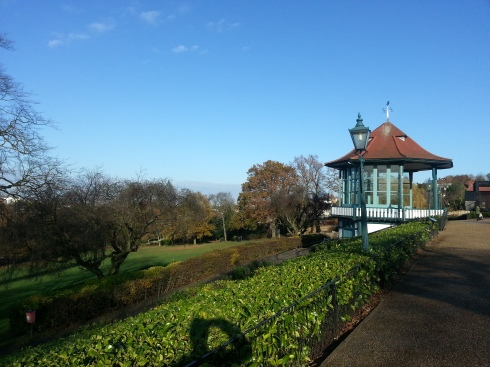 The bandstand and the grounds