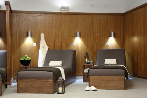 Relaxation Room - my favourite bit of the spa